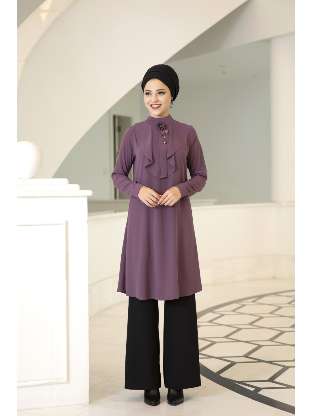 Ekin Tunic purple