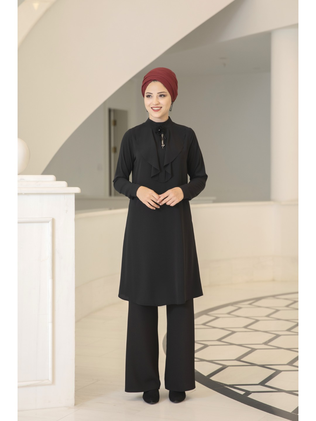 Ekin Tunic Black