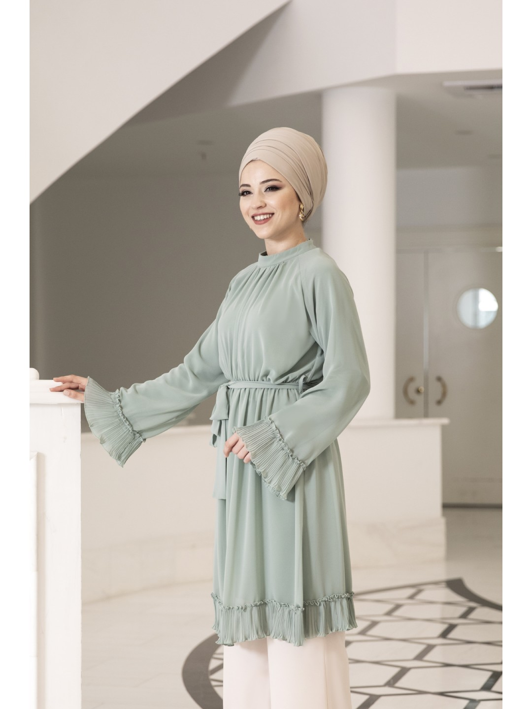 Melisa-Tunic-Green
