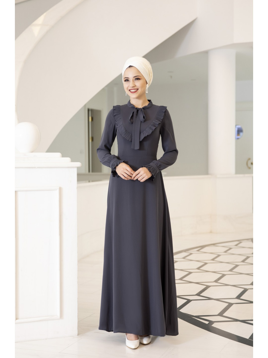 Irmak-Dress-Dark-Grey