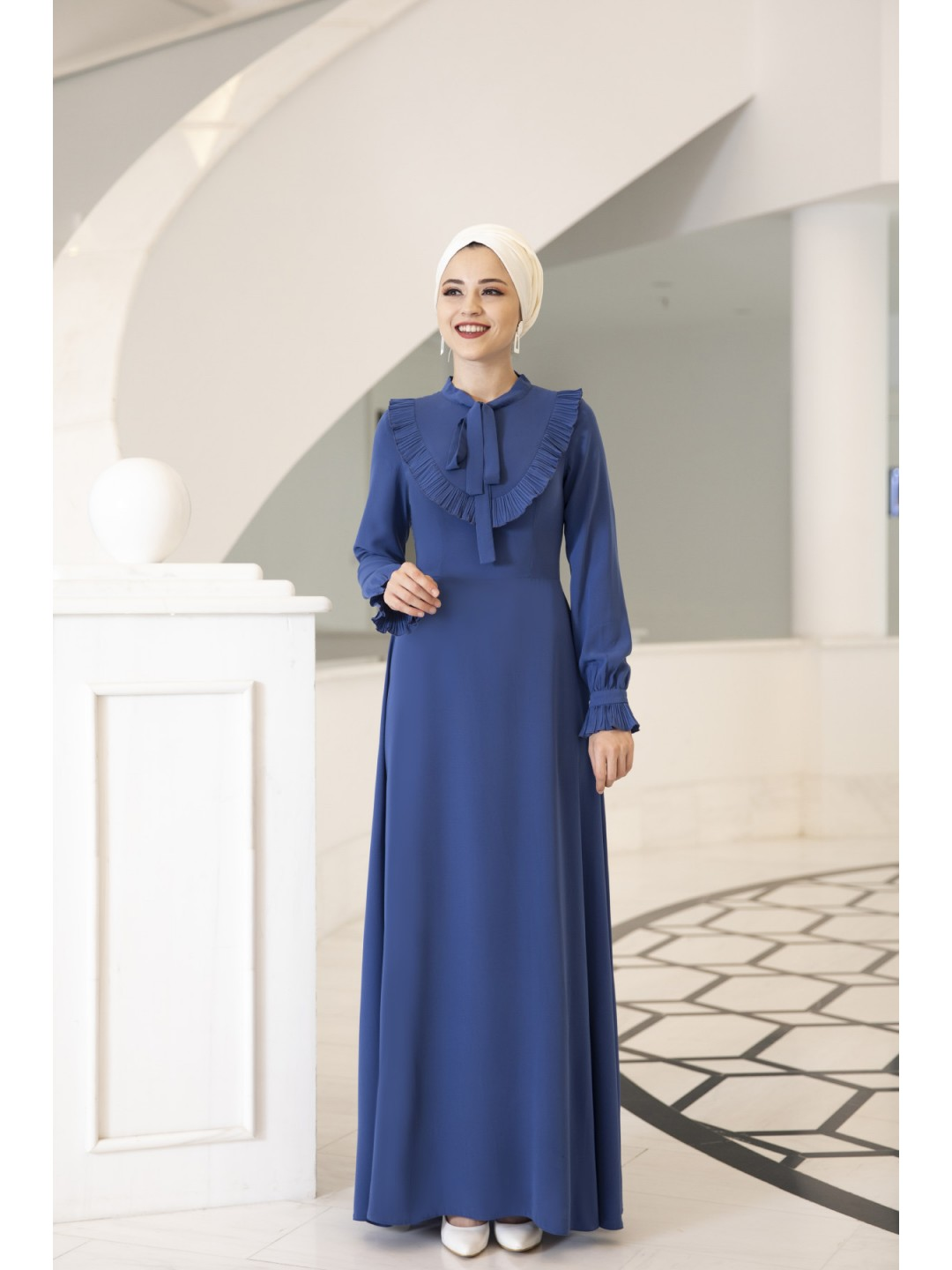 Irmak-Dress-Blue