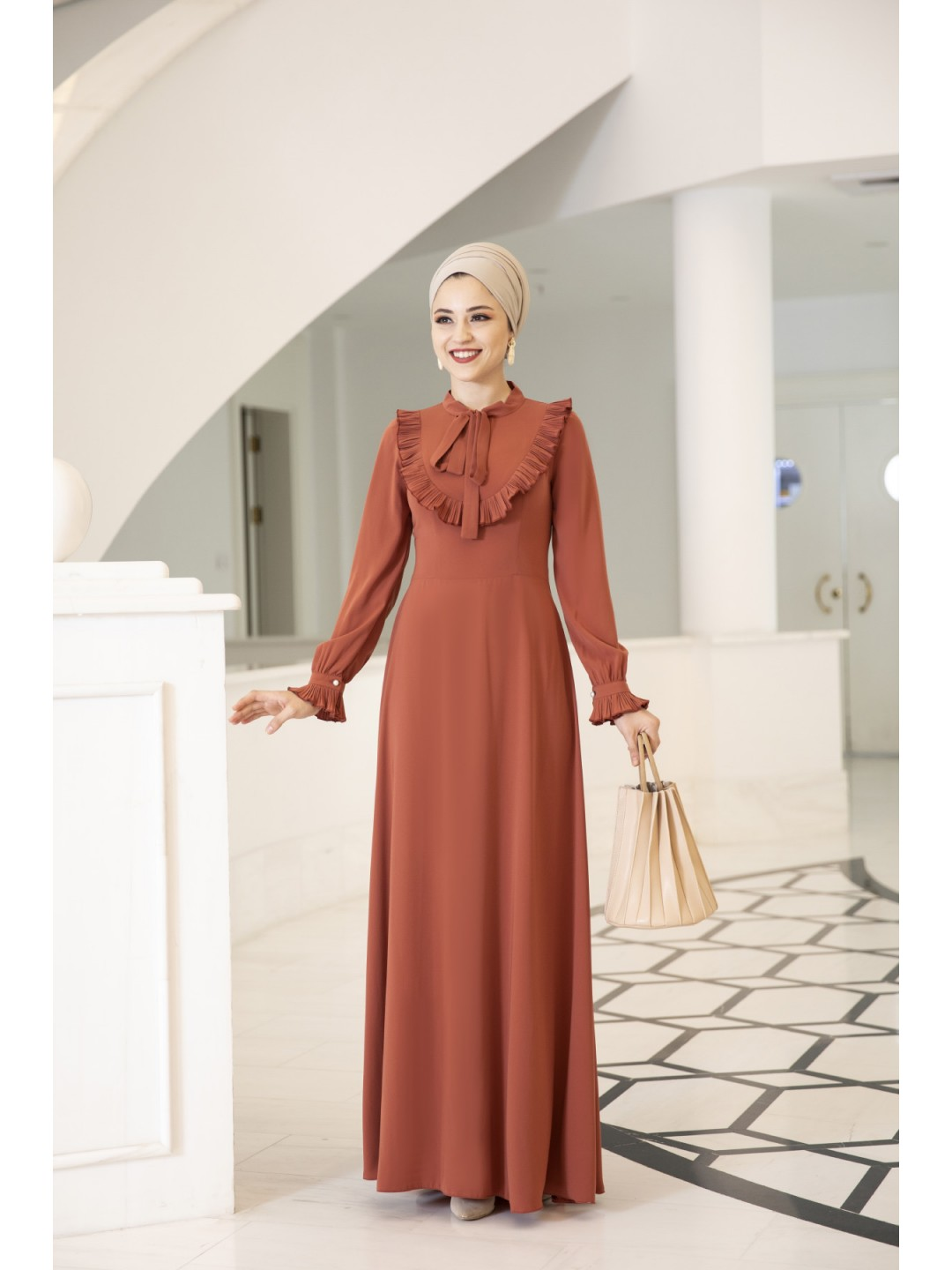 Irmak-Dress-Orange